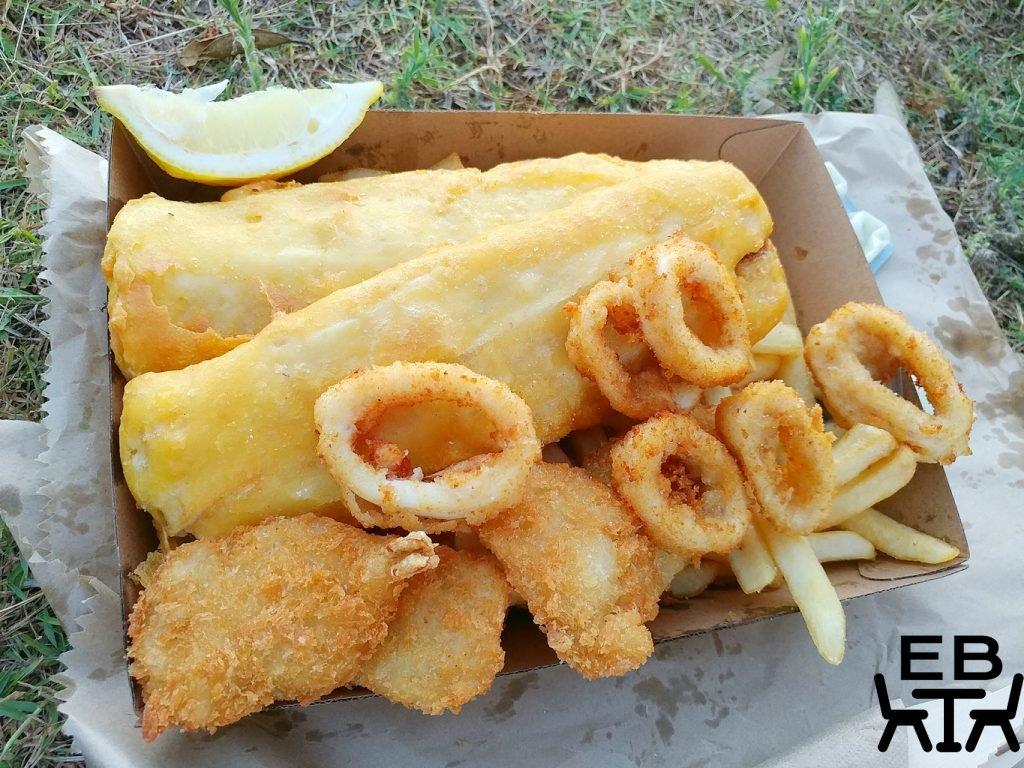 brighton street takeaway seafood basket