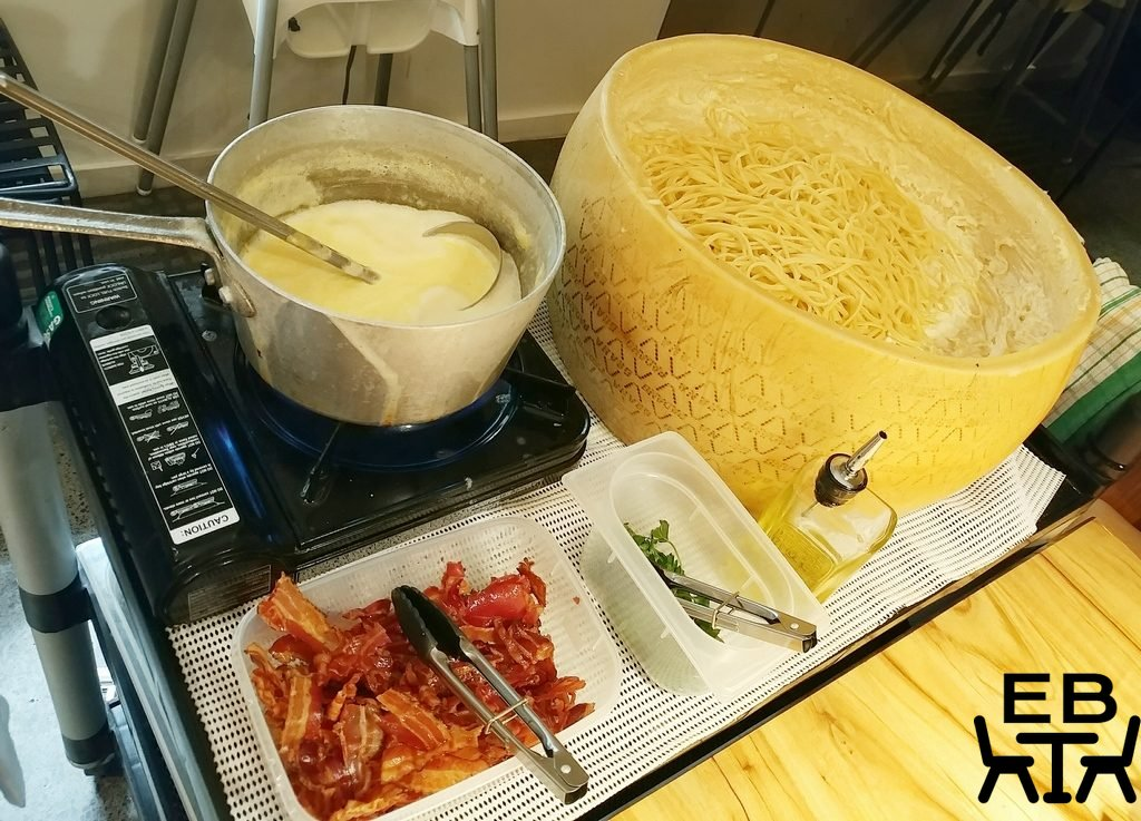 il verde cheese wheel