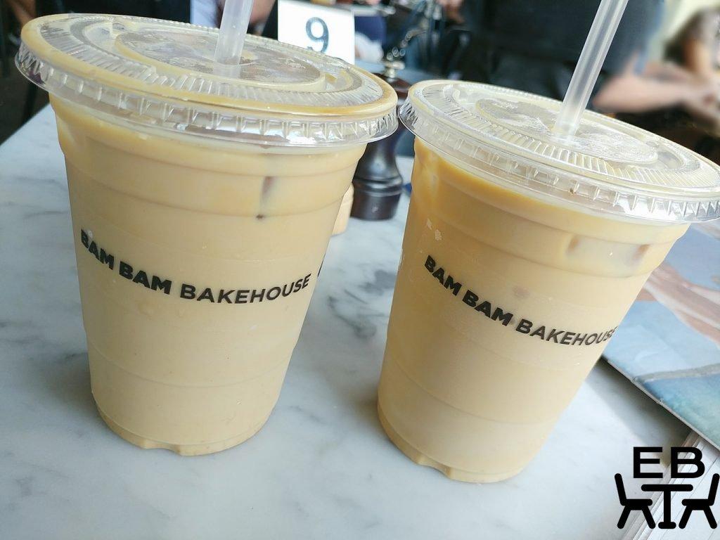 bam bam bakehouse iced lattes
