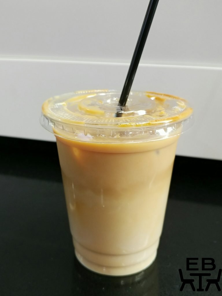 foster and black iced latte