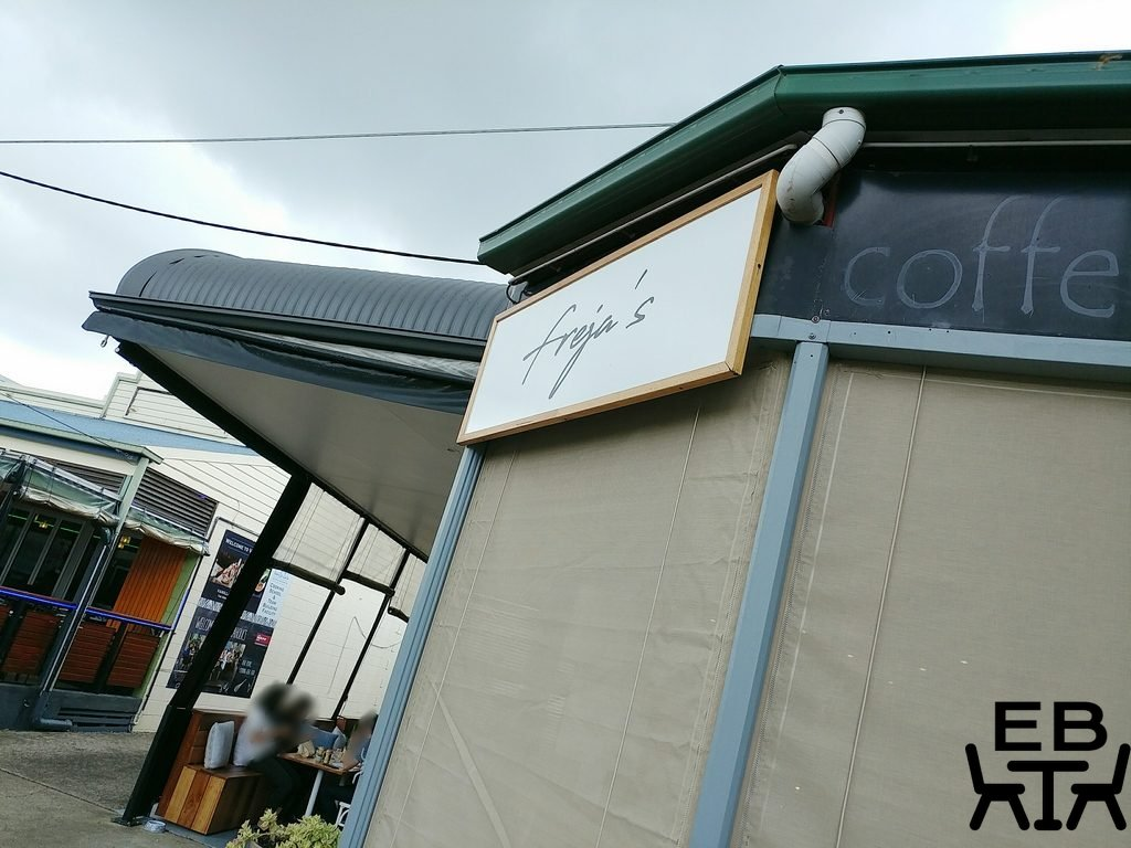 frejas cafe sign
