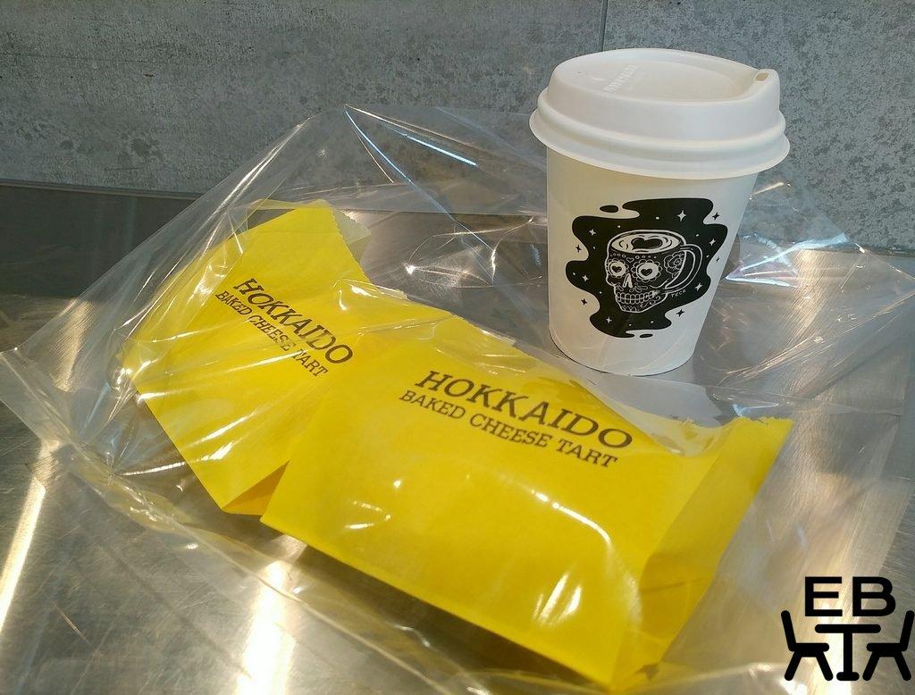 hokkaido baked cheese tart takeaway