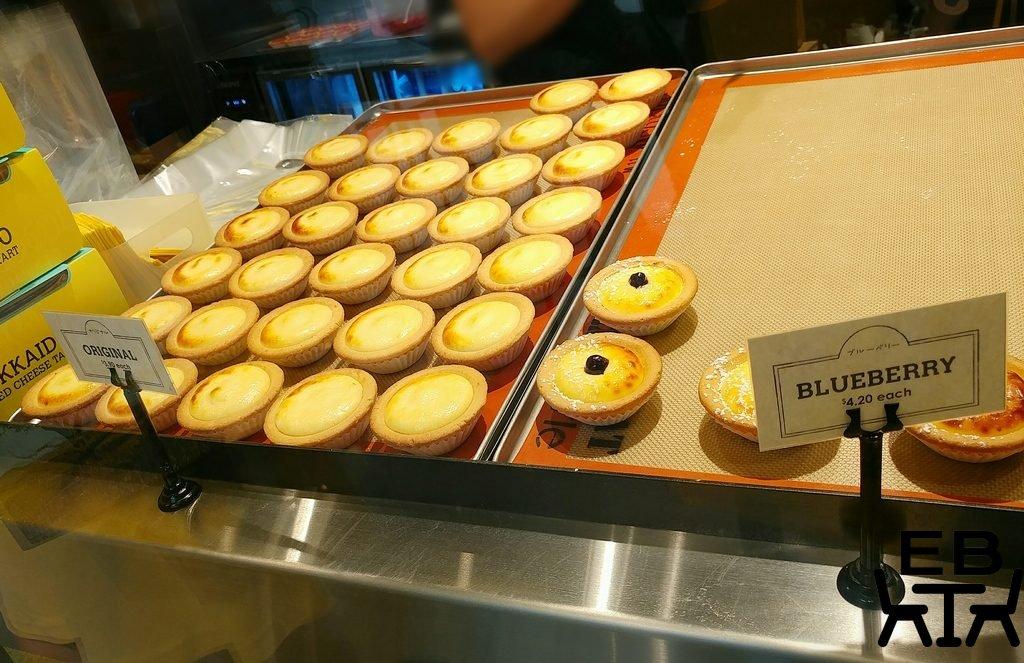 hokkaido baked cheese tart trays