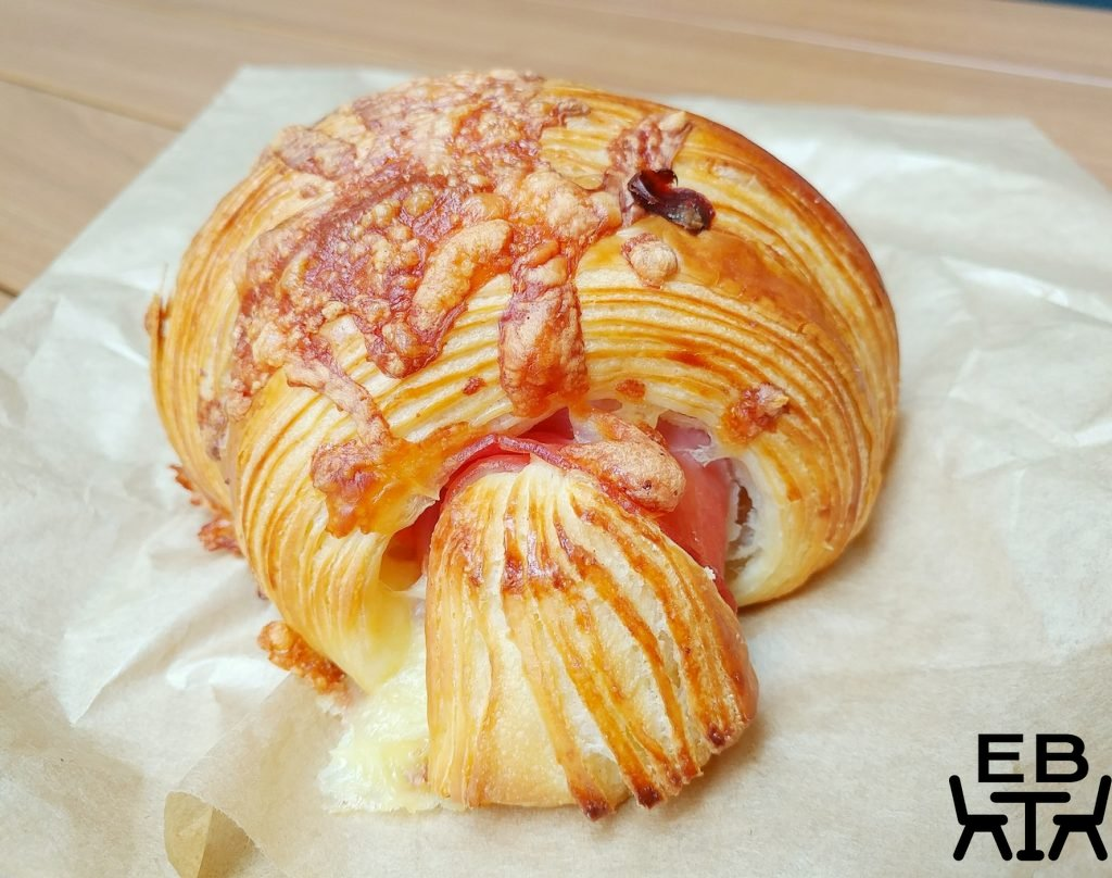 christian jacques artisan boulanger hamd and cheese croissant