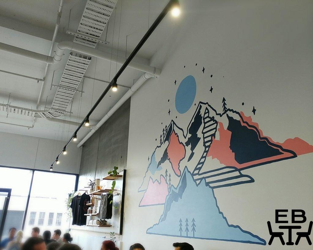 camp albion mural