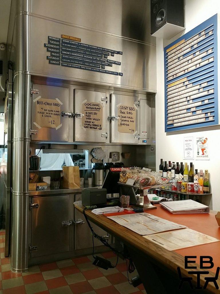butchers diner menu