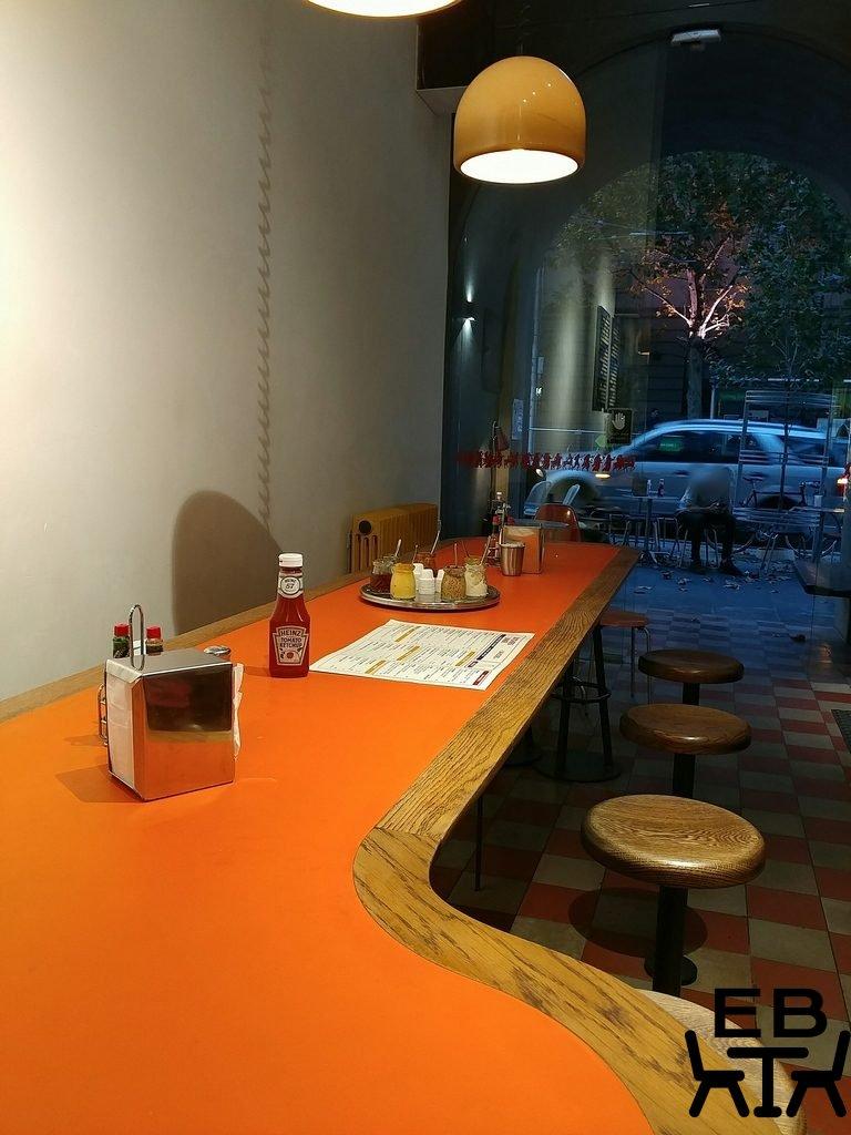 butchers diner table