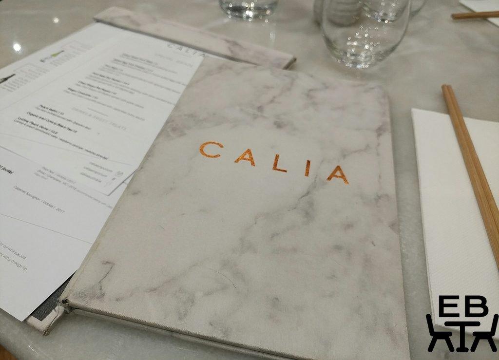 calia menu