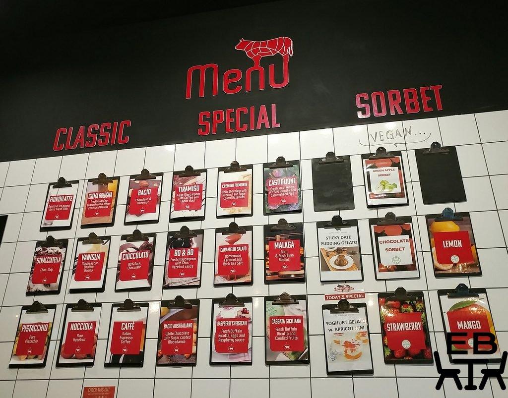 la macelleria west end menu