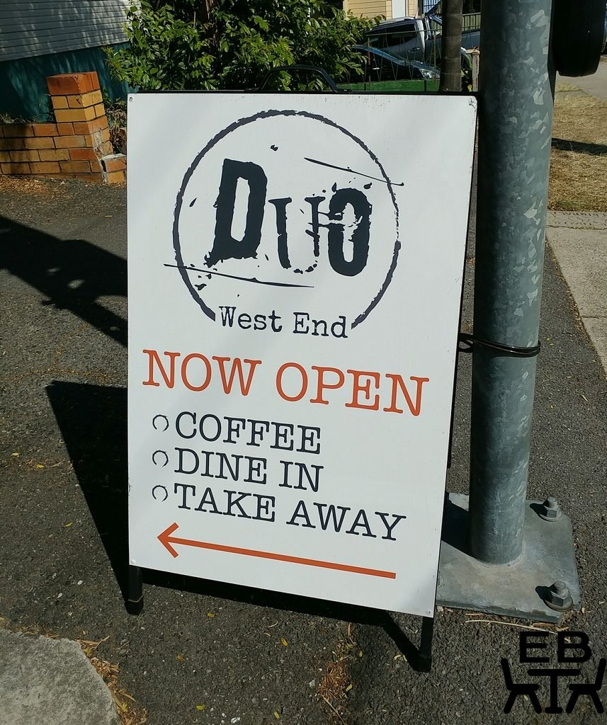 duo west end sign