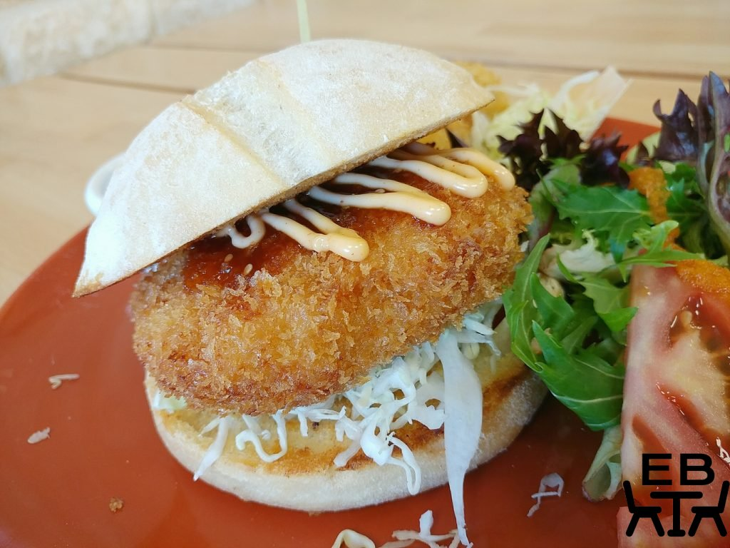 chanoyu prawn burger