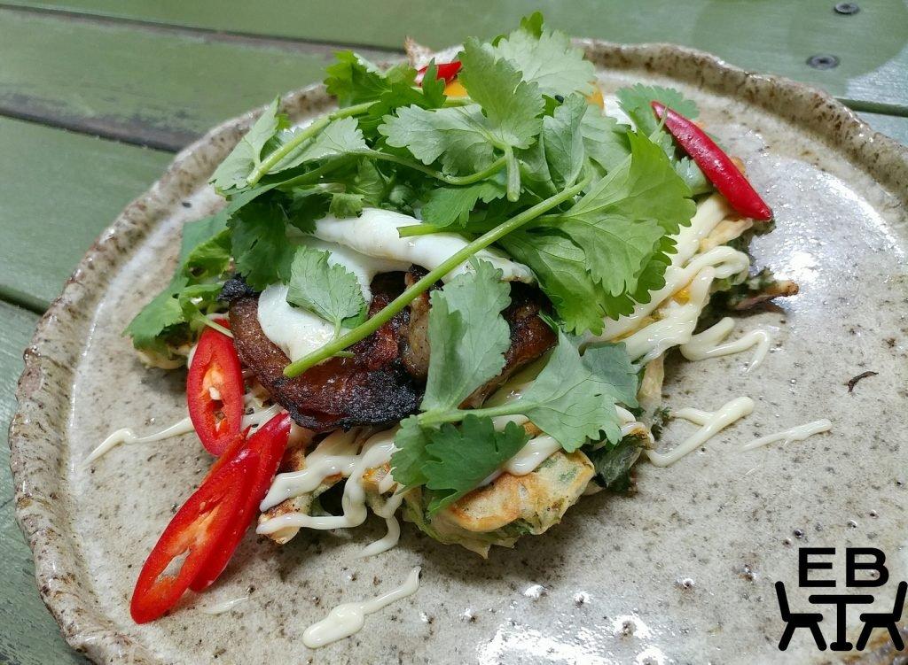 little boat espresso okonomiyaki