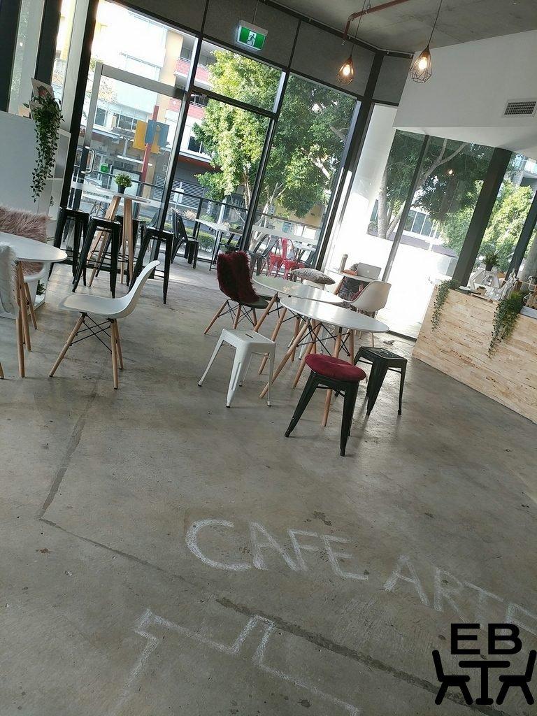 cafe artease inside
