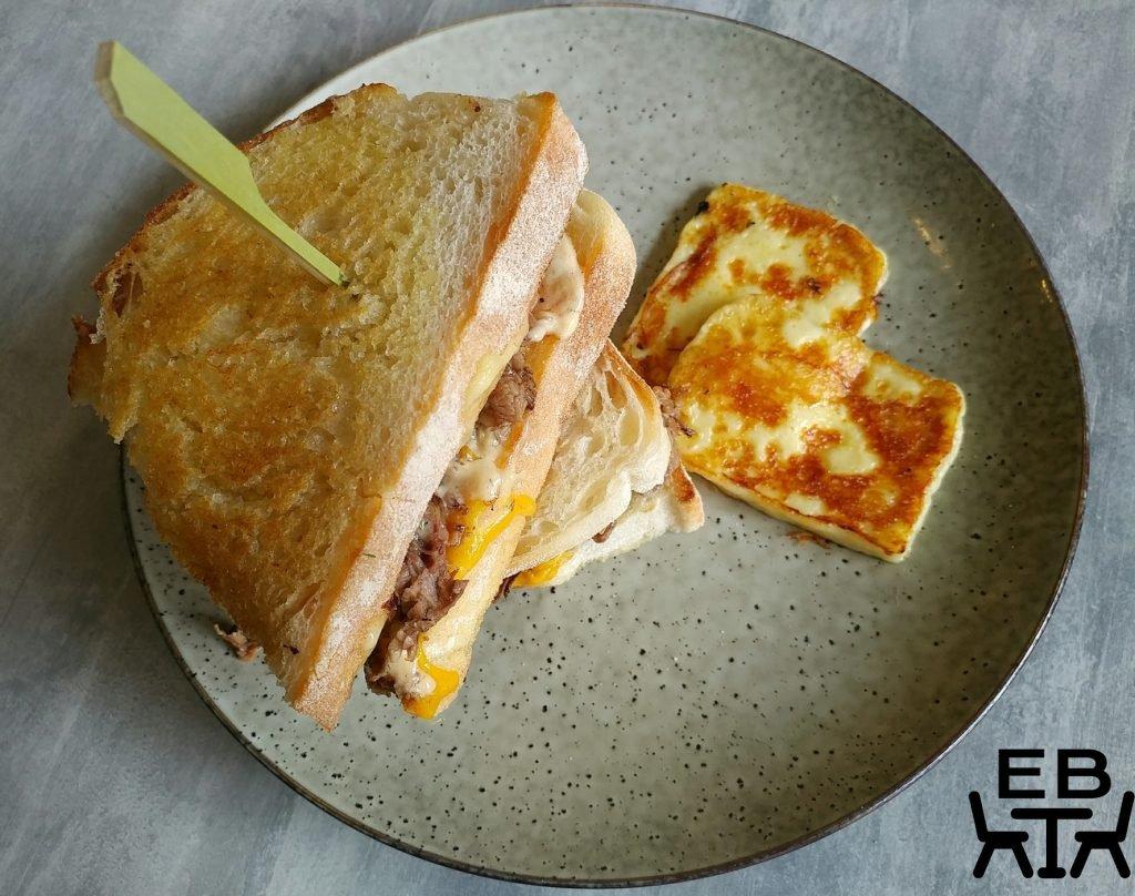 the new black cheeseburger toastie