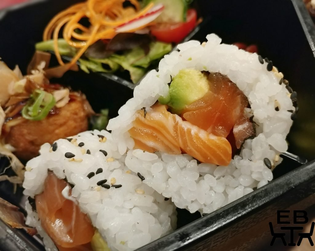 zutto bento sushi rolls