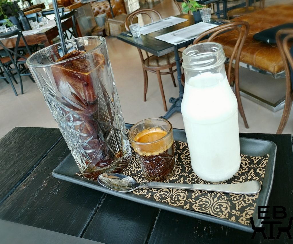 blackmarket bar and grill iced coffee