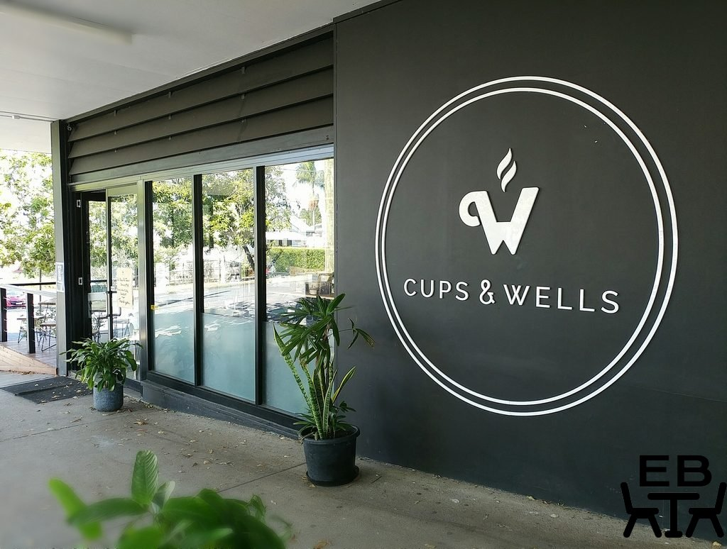 cups and wells outside