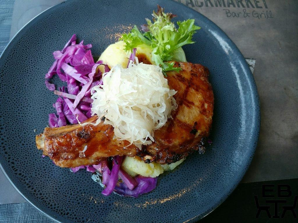 blackmarket bar and grill pork chop