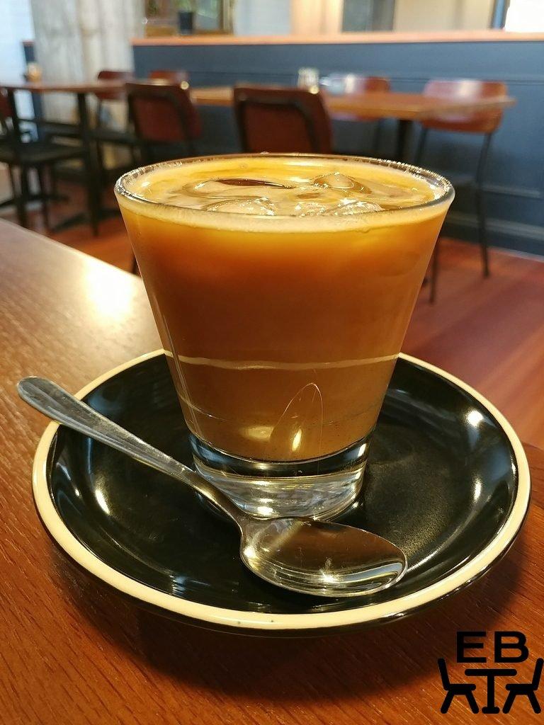 six feet under iced latte