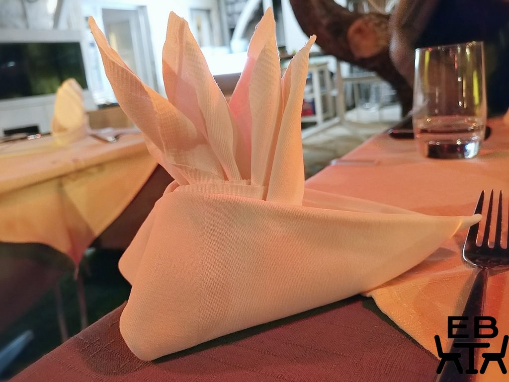 restaurant kopun napkin
