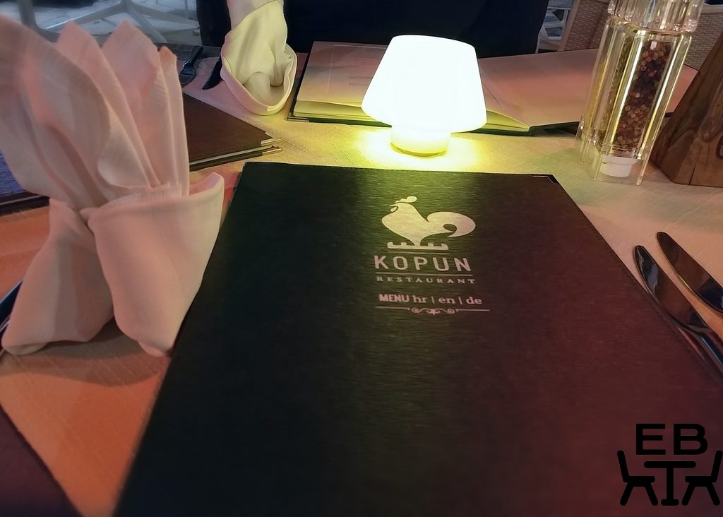 restaurant kopun menu