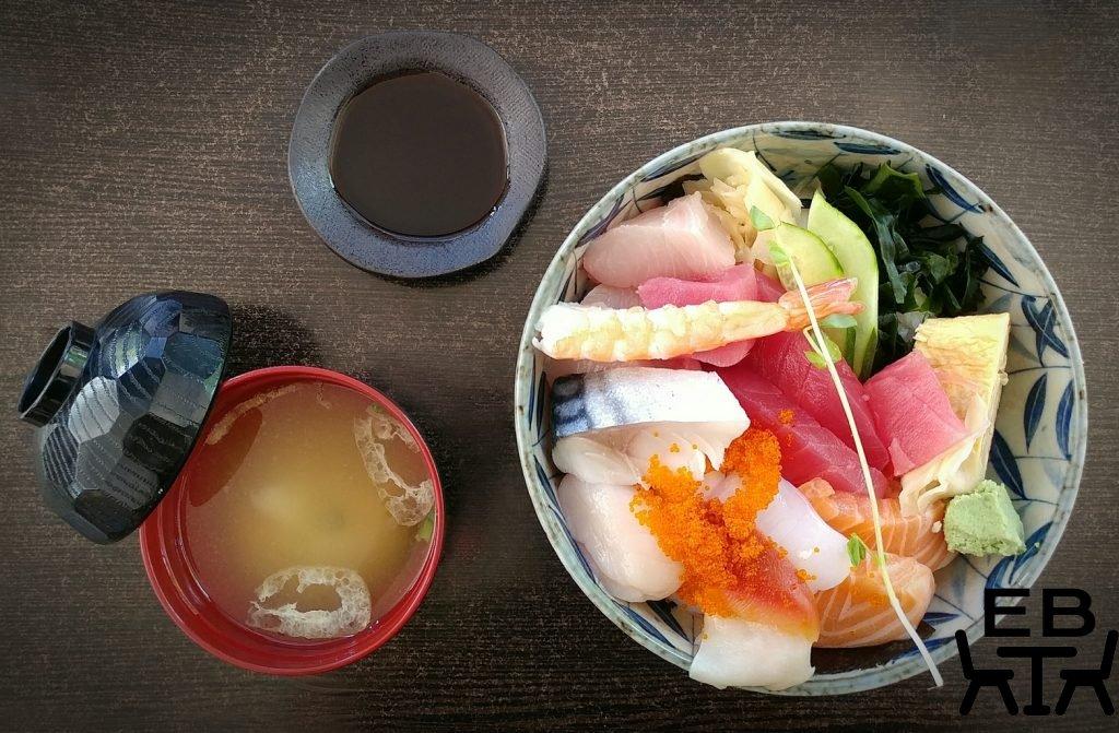 hosokawa japanese restaurant chirashi set