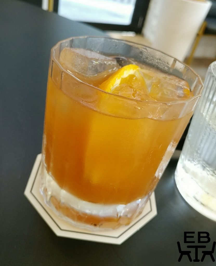little valley negroni mocktail