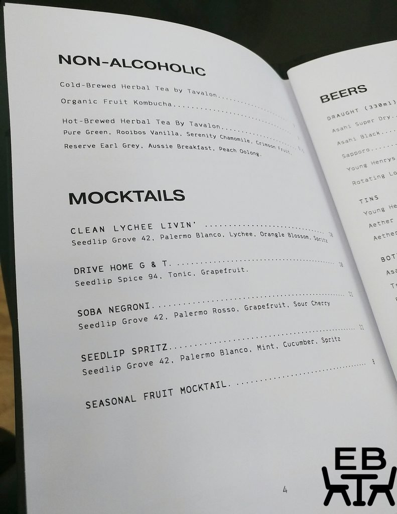 little valley mocktails