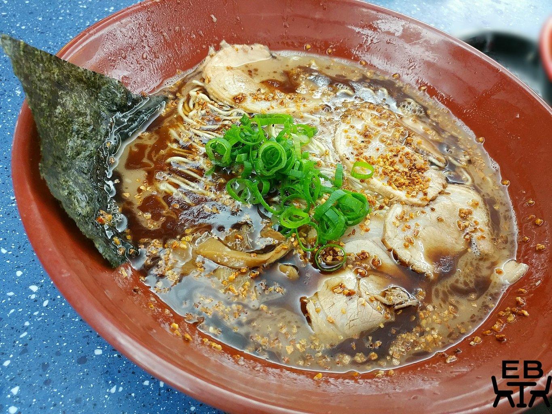 gumshara ramen garlic tonkotsu
