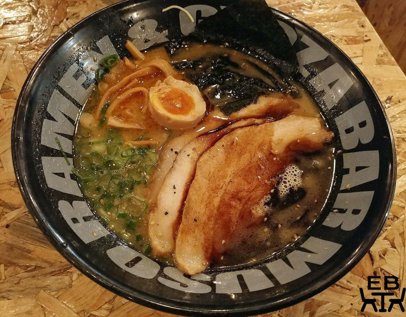 muso ramen black garlic tonkotsu