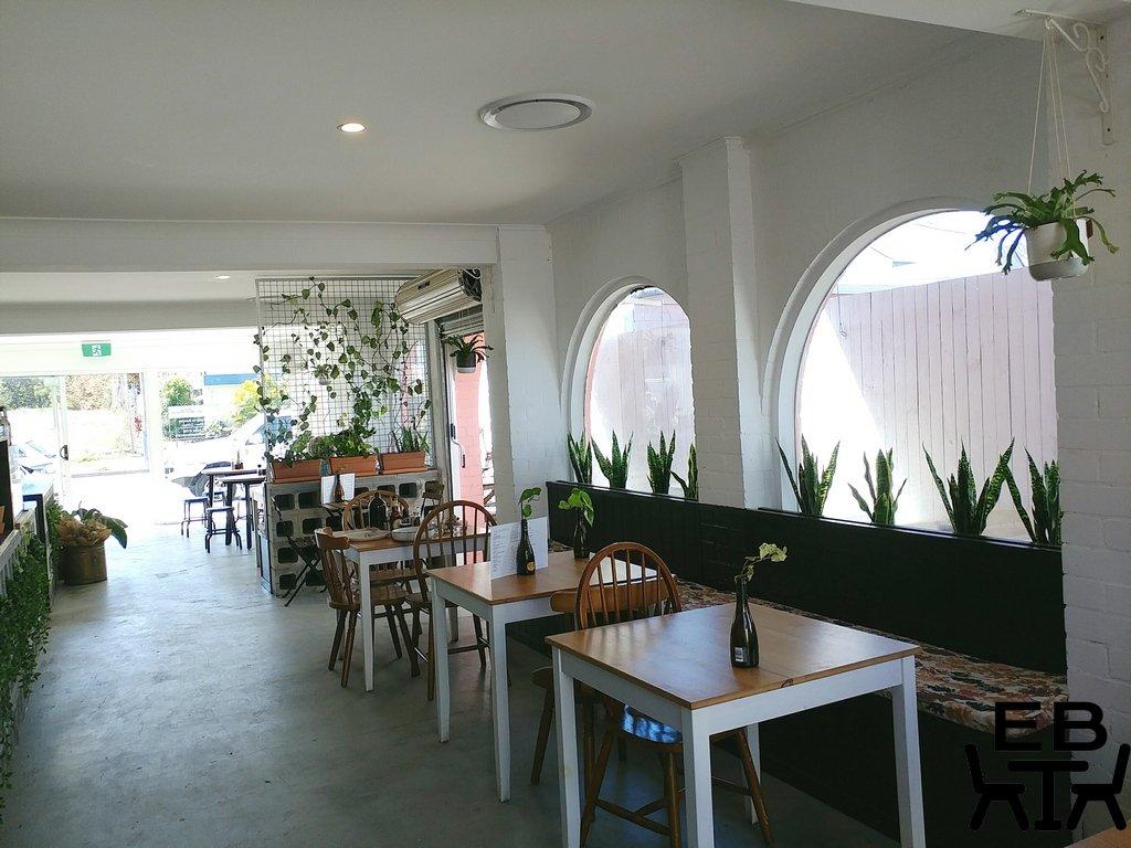 white picket fence cafe inside