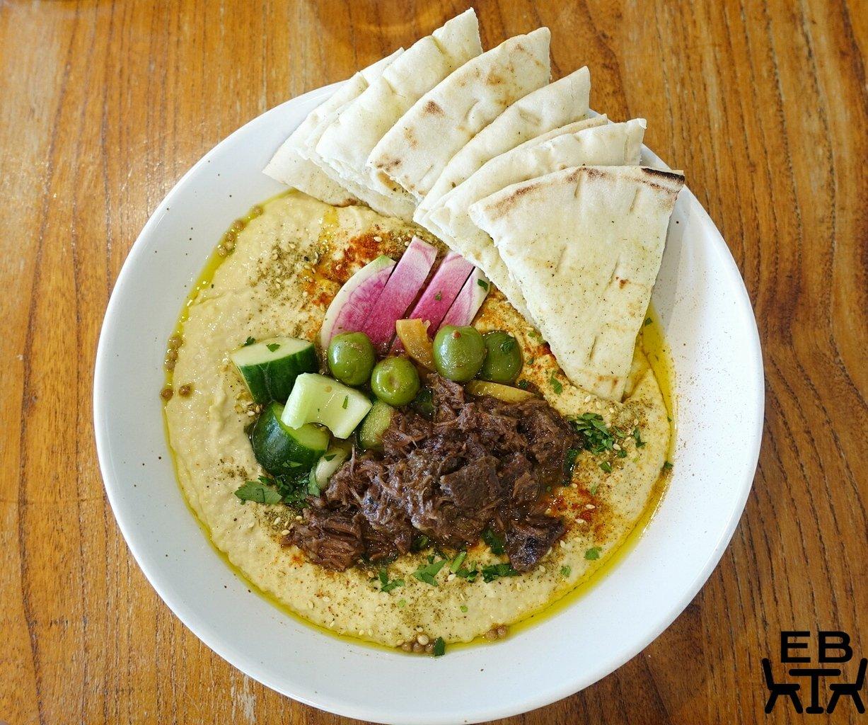 naim hummus bowl
