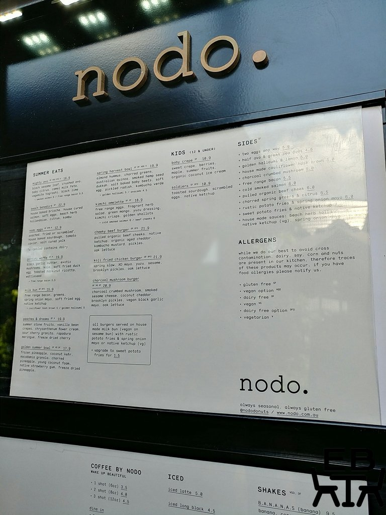 nodo camp hill menu