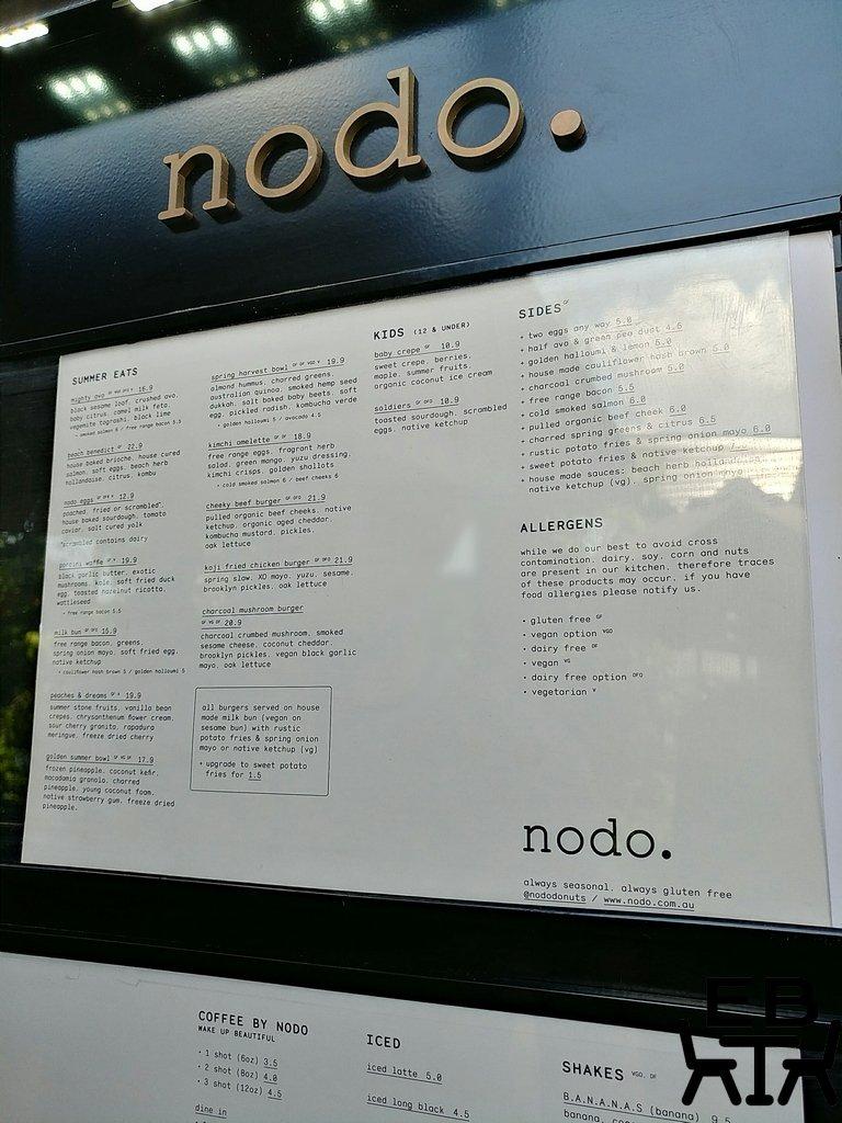 nodo camp hill menu