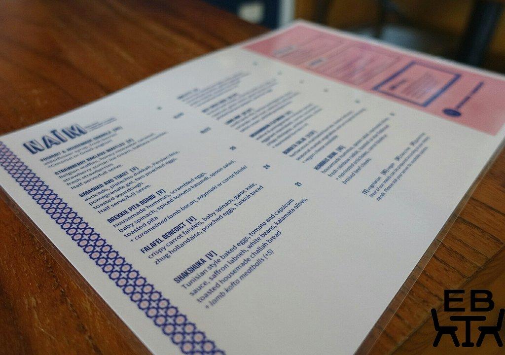 naim menu