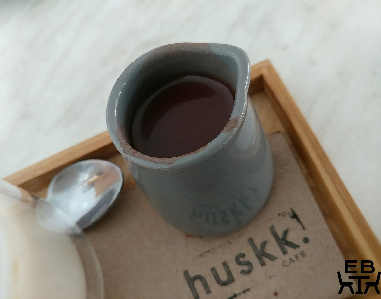 huskk cafe iced chocolate