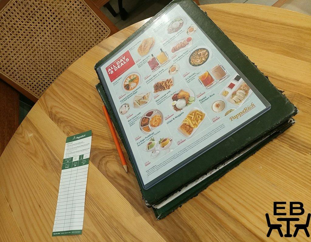 papparich menu