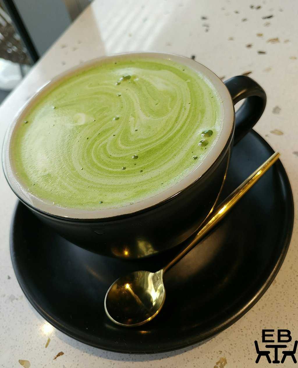 cache cache matcha latte