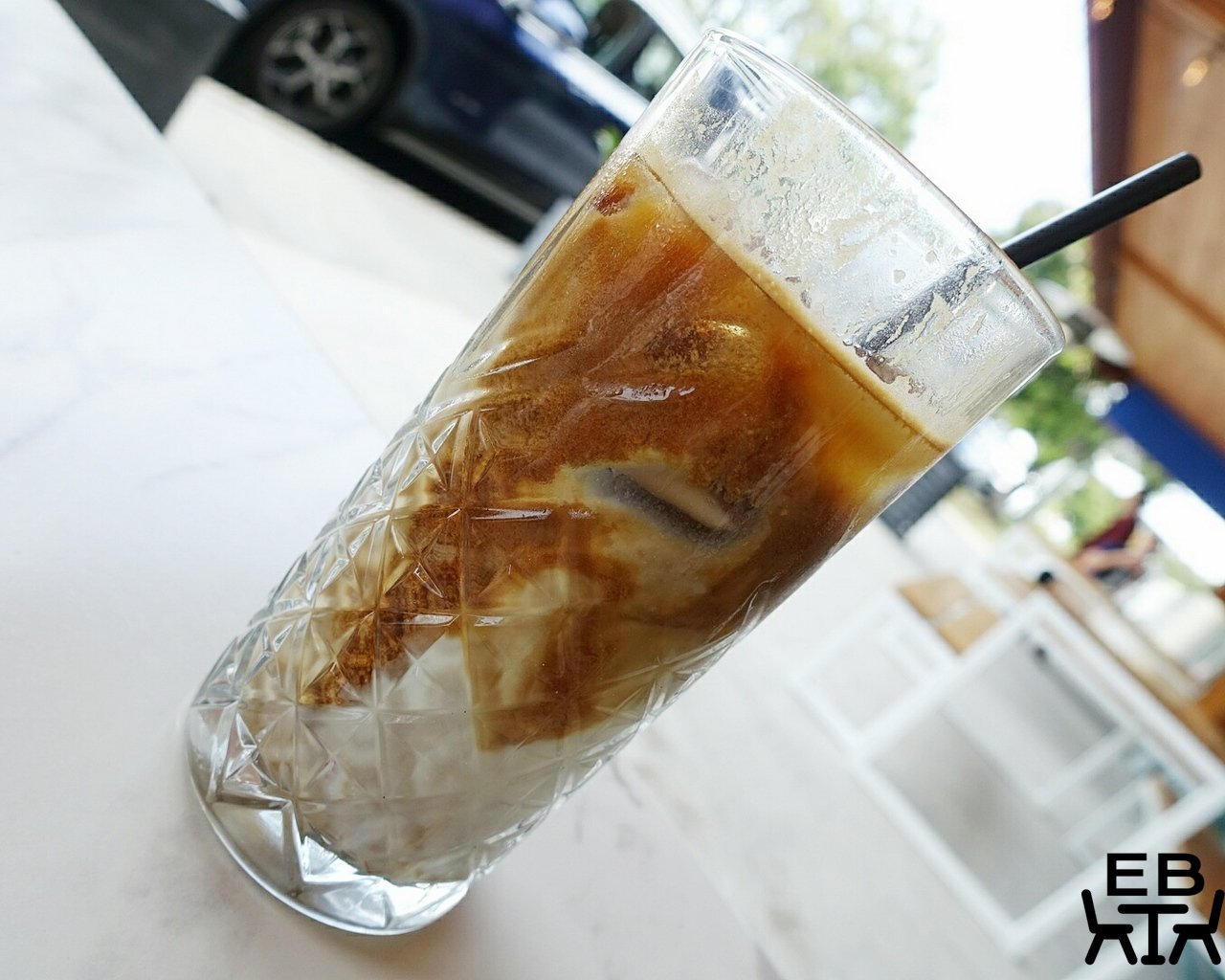 plentiful cafe iced latte
