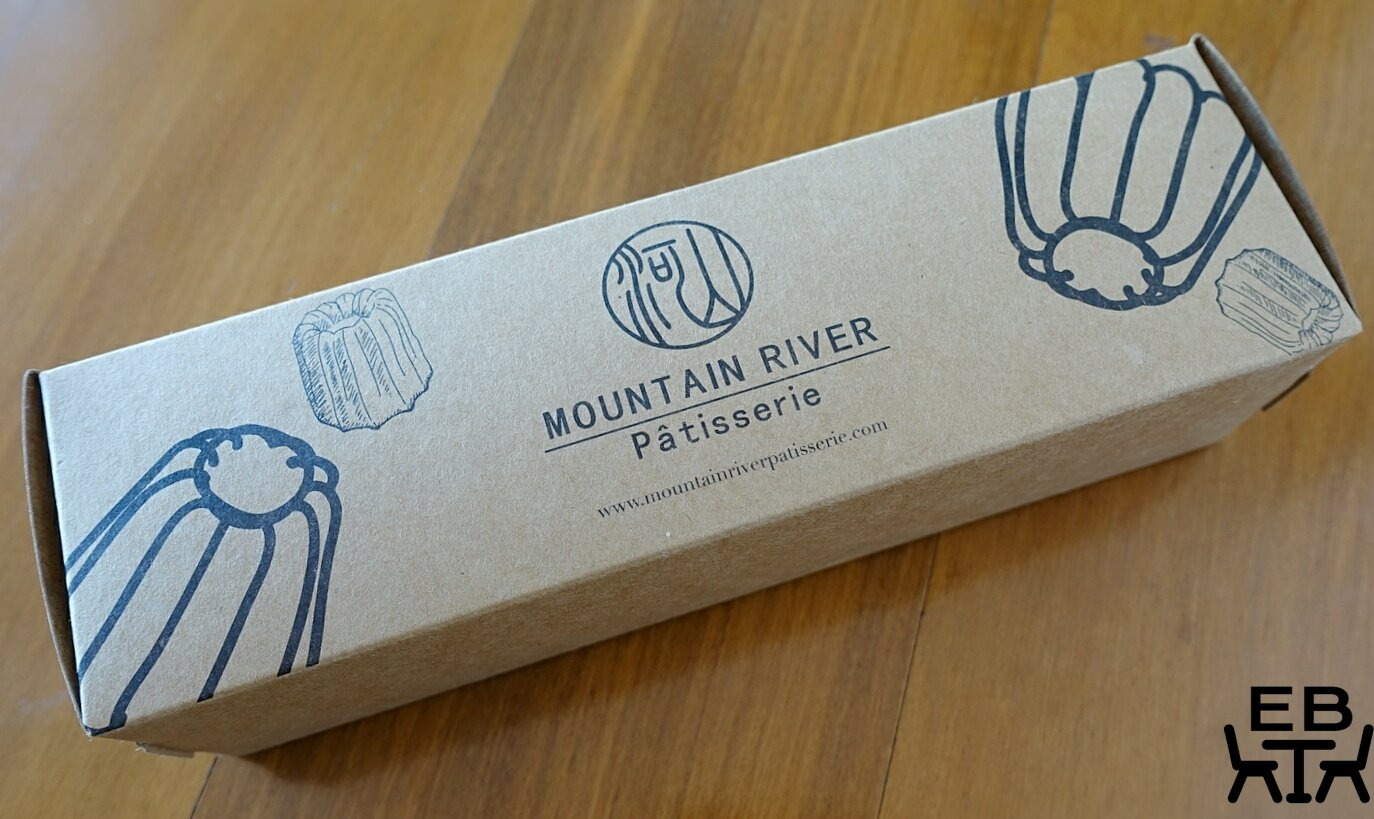 mountain river patisserie canele box