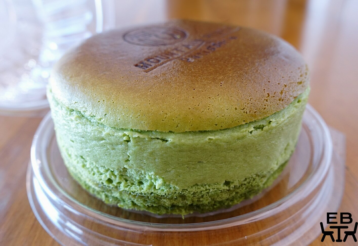 mountain river patisserie matcha cheesecake