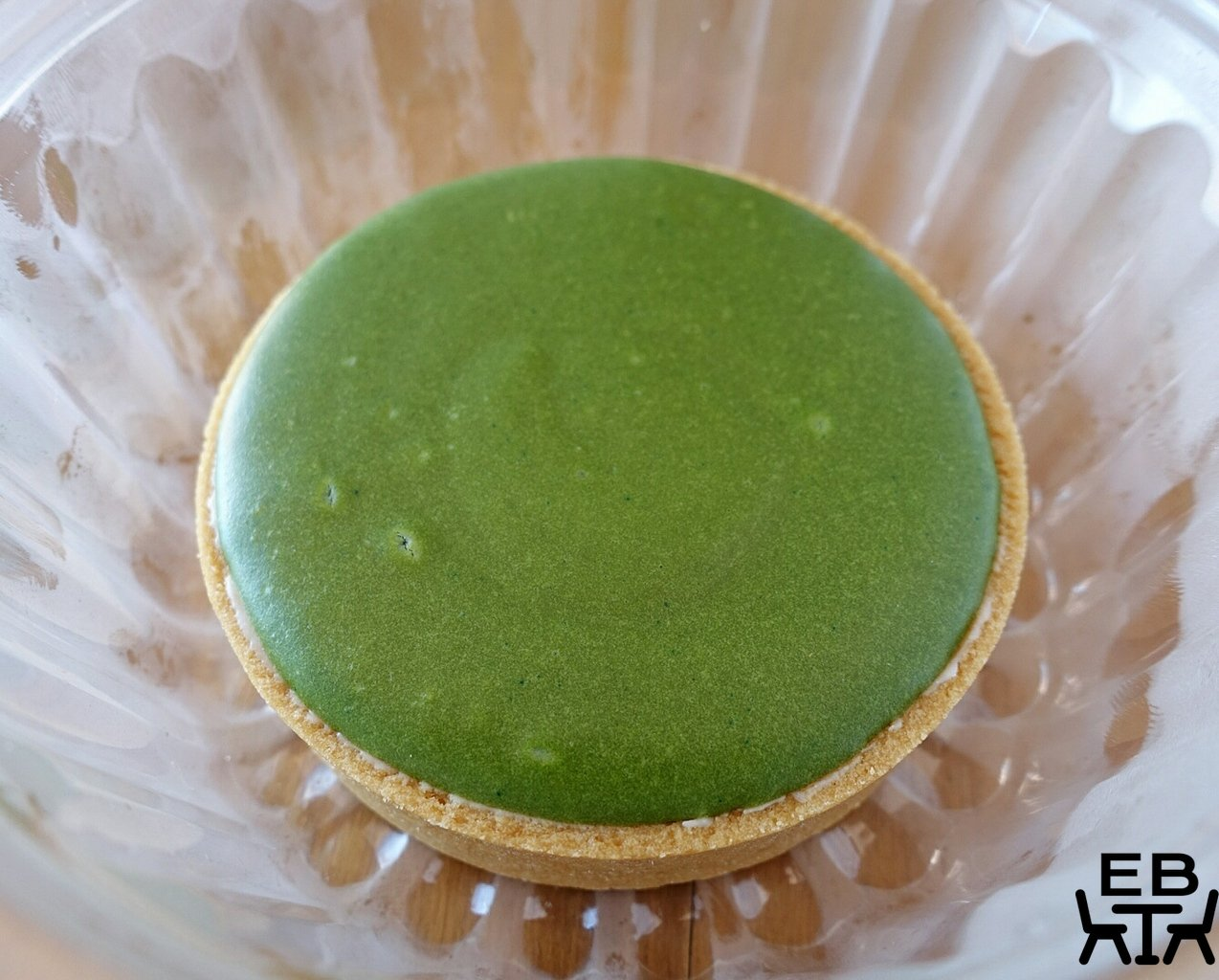 mountain river patisserie matcha lava tart