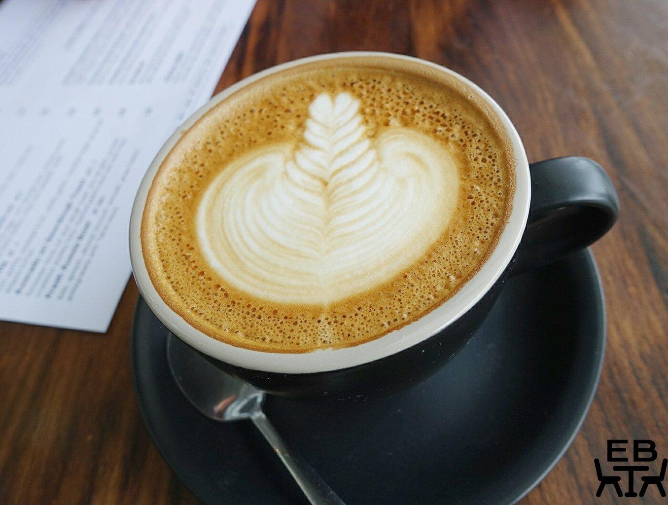 cafe scenario flat white