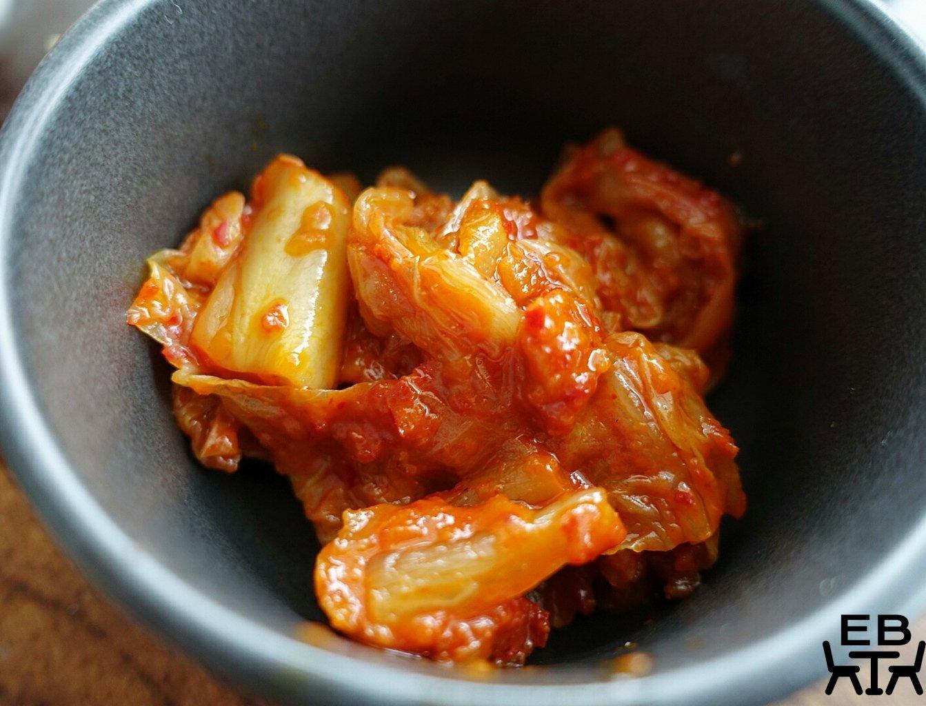 cafe scenario kimchi shakshuka