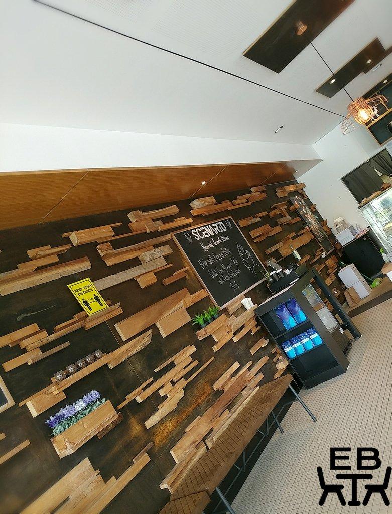 cafe scenario wall