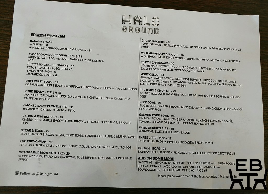 halo ground menu