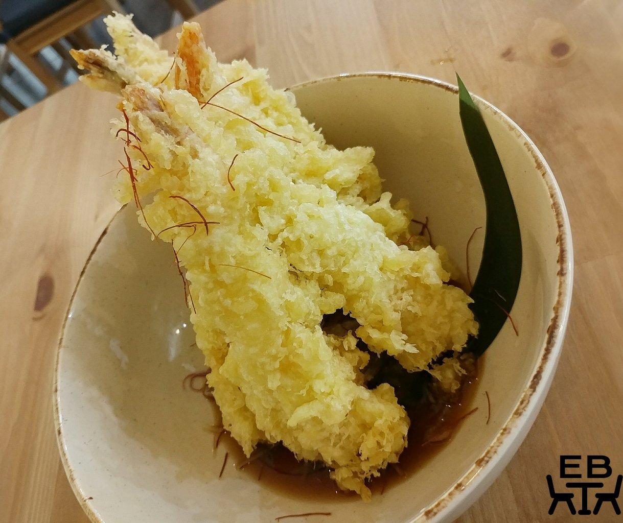 tokyo chubo tempura prawns