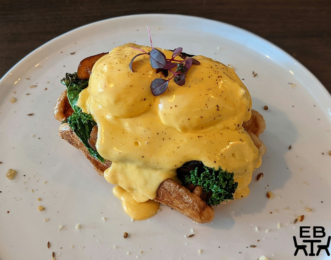 given kitchen and bar paddington eggs benny