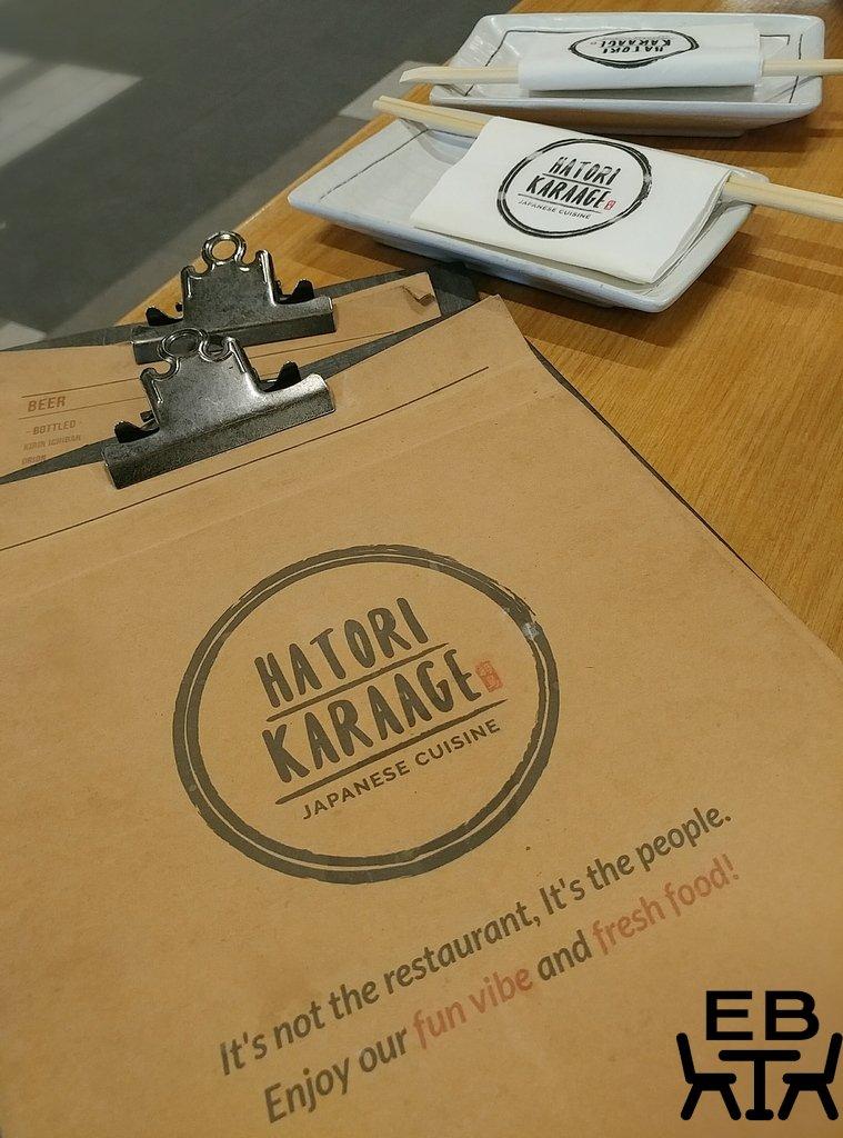 hatori karaage menu