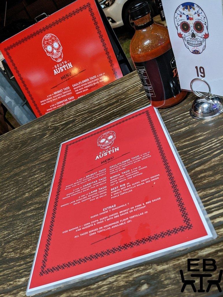 south austin menu